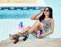 Campanha Verão/17 Sapato Show: Pool Party