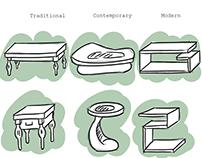 Furniture Concept Art