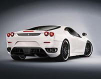 Ferrari F430 Modeling (3d work from 2010)