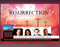The Resurrection Flyer Template
