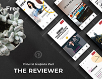 The Pinterest Reviewer: free social media templates