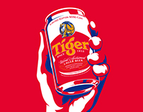 TIGER UNOFFICIAL OFFICIAL PARTY OF SG50