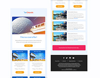 Visit Orlando - Email Design