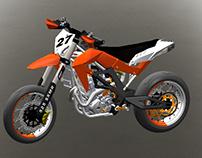 Prototype Supermotard 2015 KTM/APRILIA