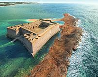 Castillo del morro de Natal, Brasil S.XVI-XVII