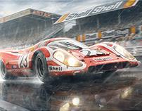 Porsche 917K - German Engineering, Hollywood Ending