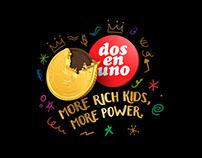 Radio Campaign / Chocolate Coins / Dos en Uno