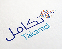 Takamol⎪Brand Mark & Visual Identity Design