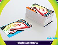 Nuevas tarjetas recargables Play Zone