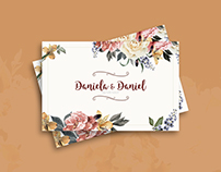 Wedding Invitation | Daniela Molina