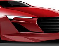 Automotive Digital Sketches