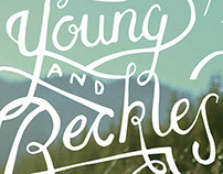 Young and Reckless Lettering