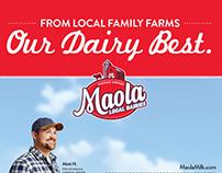 Maola Print Ad