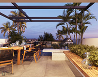 Terrace garden |CGI Design by: DuyHuynh,893.studio