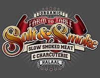 Salt & Smoke logo design