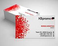 HB Promo business card
