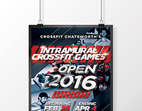 Crossfit Chatsworth's 2016 Competition Poster
