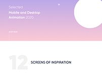 Mobile and Desktop animation 2020