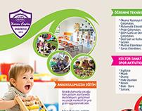 Nurşen Ceylan Anaokulu ( kindergarten brochure)