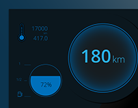 Daily UI #034 - Car Interface