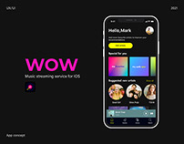 Wow Music App