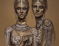 ENIGMA - Fashion Illustration