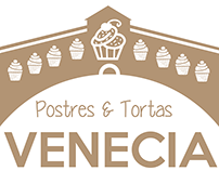 Venecia - Postres y Tortas (Logo en desarrollo)