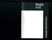 Visuelle Geschichten Regal H15