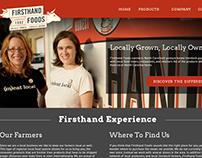 Firsthand Foods: Branding & Website