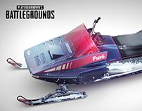 PUBG Furo Snowmobile (Official)