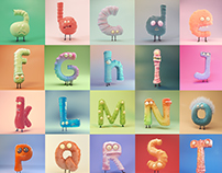 Little Monsters Alphabet