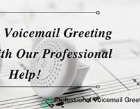 Professional voicemail greeting images on behance professional voicemail greetings experts m4hsunfo