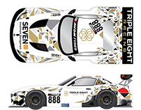 Triple Eight Racing, BMW Z4 GT3 livery design