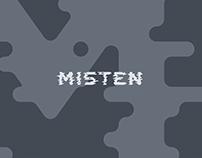 Typeface - Misten