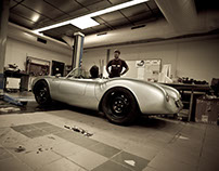 Porsche 550 Spyder Replica Re-imagined