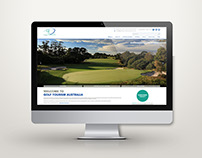 Golf Tourism Australia: website design