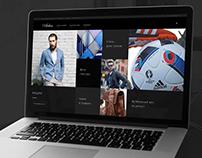 Arber, promo & online shop / Дизайн вебсайта Арбер