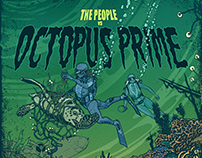 The People vs Octopus Prime - comic book cover