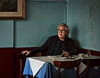 Danish poet and film director Jørgen Leth, bookcover.