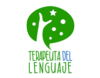 terapeuta del lenuaje new flat logo