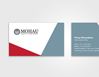 Mohau Equity Partners Business Card