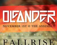 Oleander Show Poster