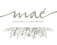 Logotype - Maé organic - Crochet + Knitwear