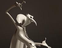 3D / Vampire / Denis Zilber concept / wip 2