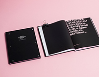 Master's Thesis Book Design