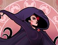 Raven homage cover art practice