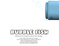 BUBBLE FISH Fingertip Band-aid Design