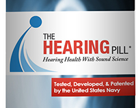 3D Product Rendering - The Hearing Pill
