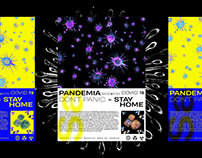 PANDEMIA - Poster layout