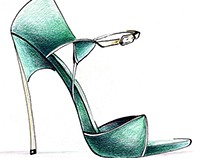 Casadei green shoe